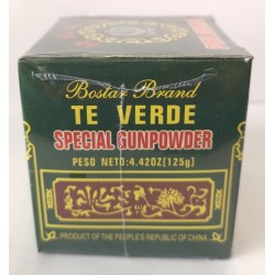 Té Verde Gunpowder 125g